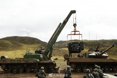 15式坦克同型抢修车装备绞盘首曝光 - image